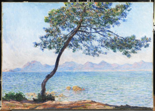 Claude Monet Antibes © The Samuel Courtauld Trust, The Courtauld Gallery, London