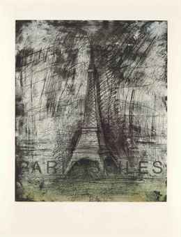 Jim Dine Paris Smiles in Darkness, 1976