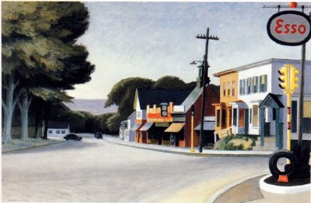 Edward Hopper, Portrait of Orleans, 1950