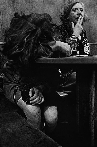 Anders Petersen - Cafe Lehmitz 1967-1970 © Anders Petersen