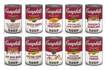 Andy Warhol Campbell's Soup II