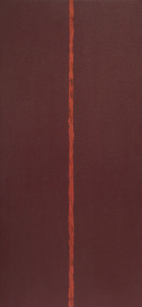 Barnett Newman Onement III 1949 © 2018 Barnett Newman Foundation/Artists Rights Society (ARS), New York
