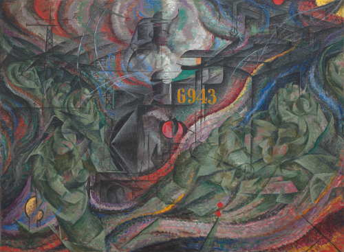 Umberto Boccioni States of Mind I: The Farewells 1911