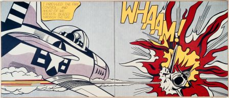 Roy Lichtenstein, Whaam! 1963 © Estate of Roy Lichtenstein / Photo (c) Tate