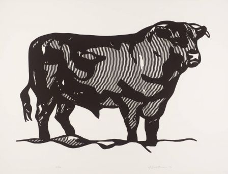 Roy Lichtenstein, Bull I 1973 © Estate of Roy Lichtenstein/DACS 2002