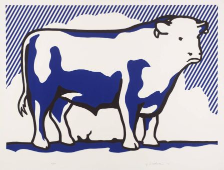 Roy Lichtenstein, Bull II 1973 © Estate of Roy Lichtenstein/DACS 2002