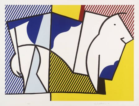Roy Lichtenstein, Bull III 1973 © Estate of Roy Lichtenstein/DACS 2002