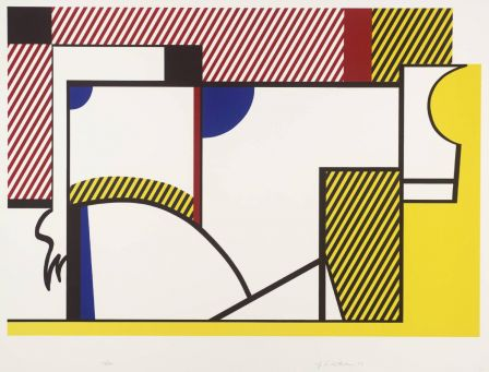 Roy Lichtenstein, Bull IV 1973 © Estate of Roy Lichtenstein/DACS 2002