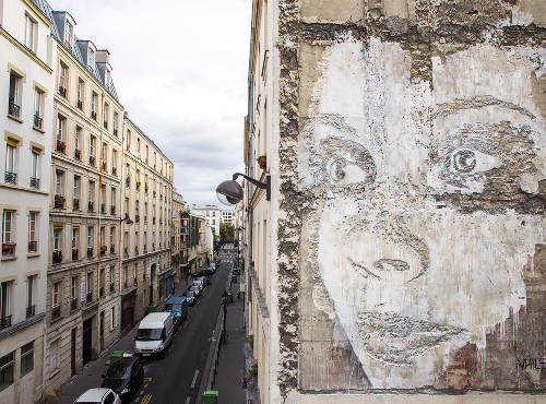 Vhils - Scratching the Surface project