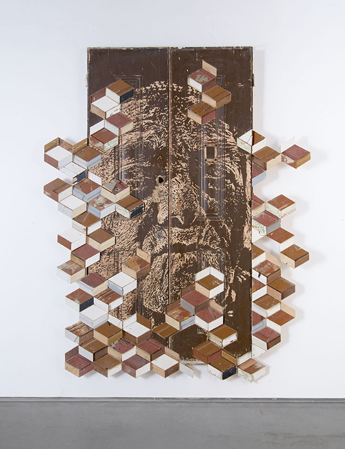 Vhils - Orderliness Series #03